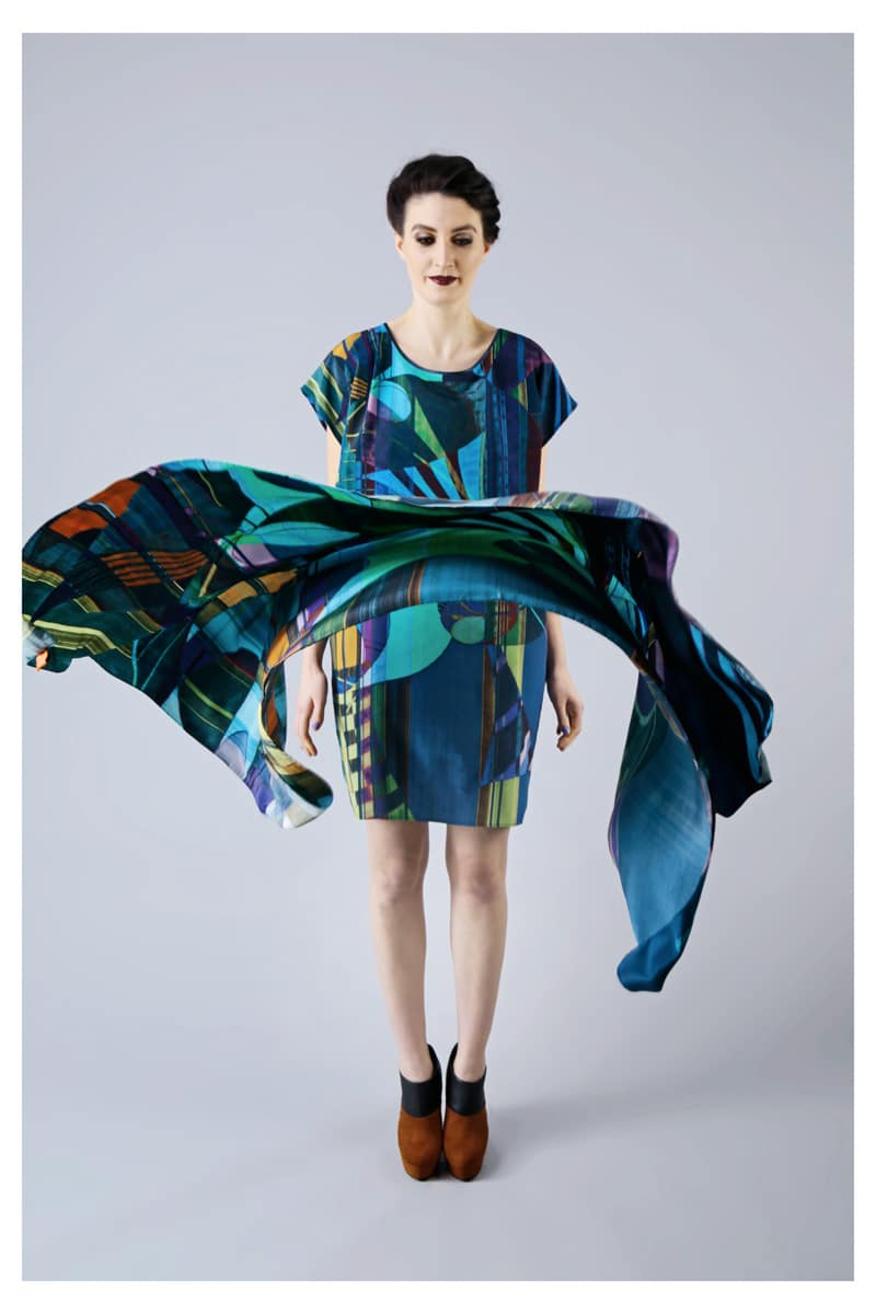 TAISIR GIBREEL SILK DRESSES AND SCARVES
