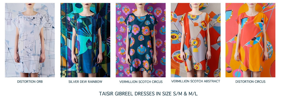 TAISIR GIBREEL DRESSES 2014 SMALL