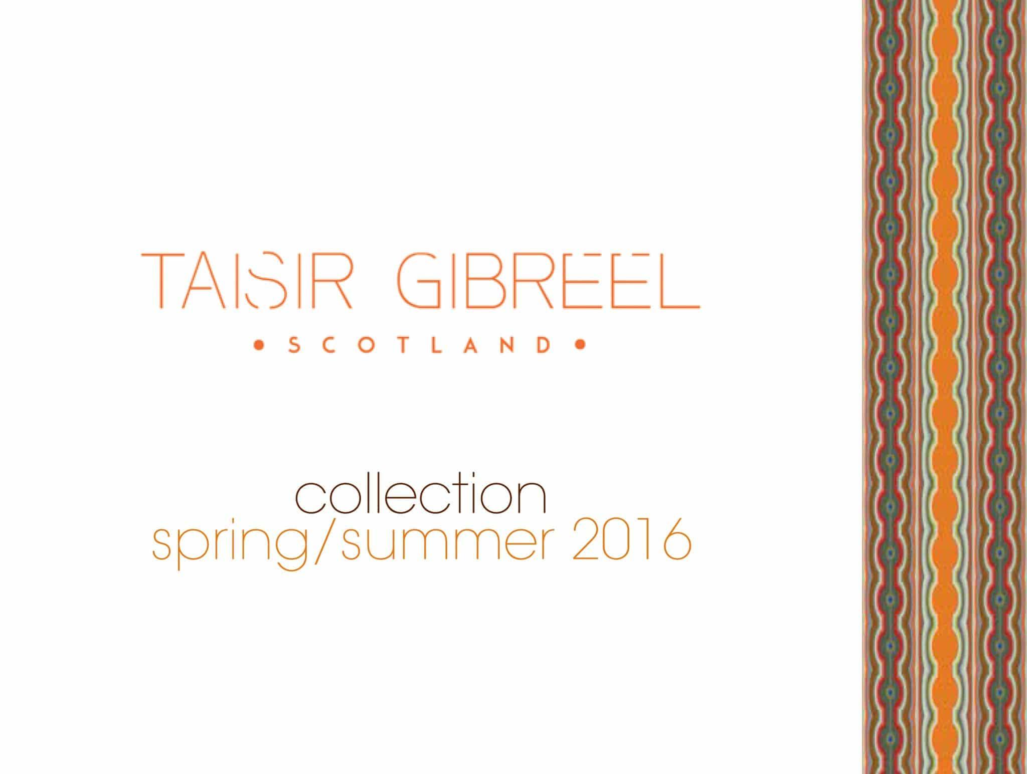 SPRING SUMMER 2016 CATALOGUE | TAISIR GIBREEL