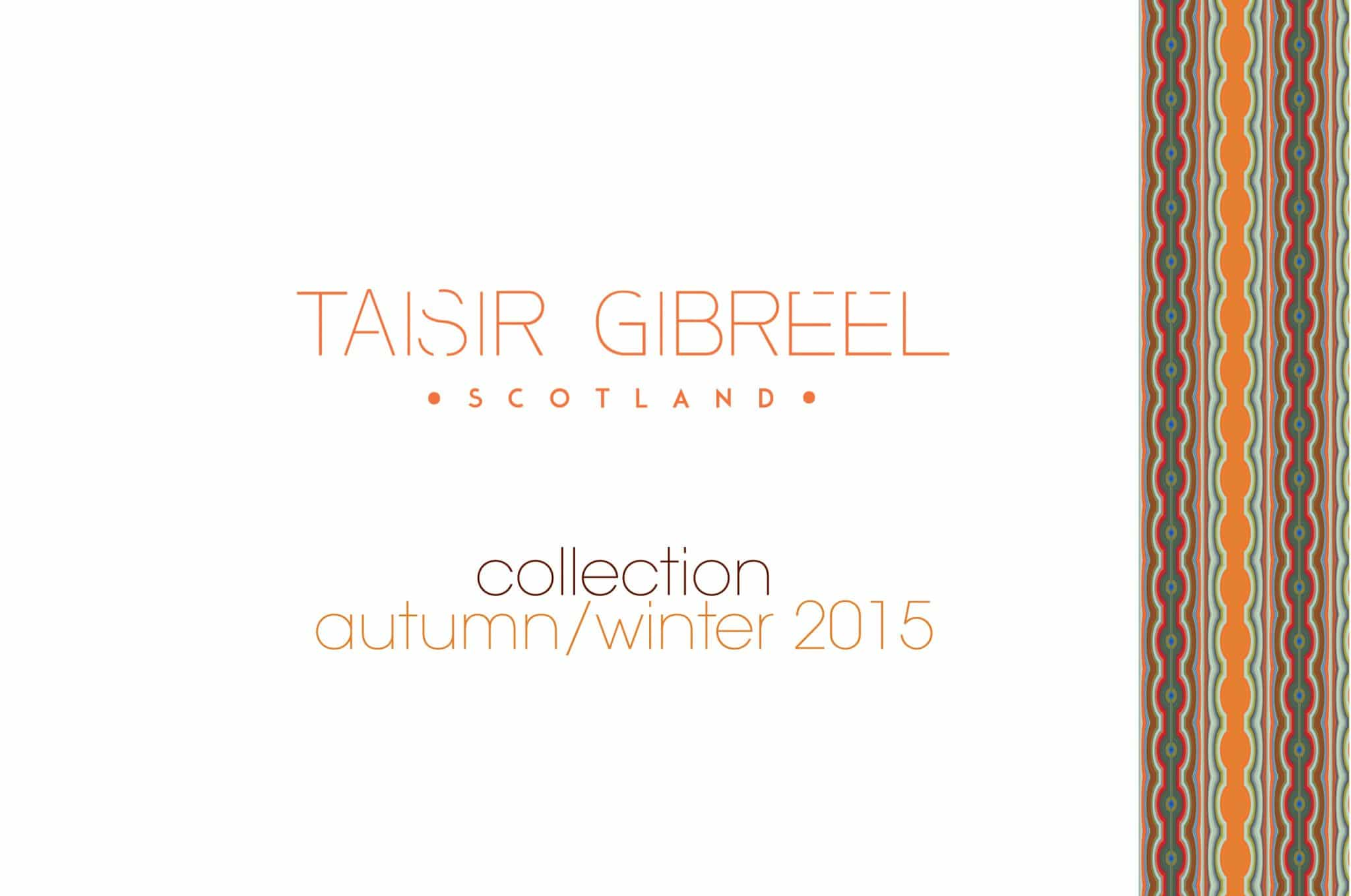 TAISIR GIBREEL DESIGNER LUXURY SILK SCARF MADE IN THE UK CATALOGUE