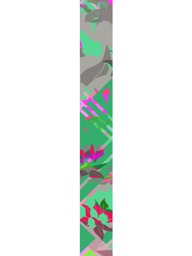 LUXURY SILK SCARF MUNRO BLOSSOM WEAVE 20cm x 175cm | TAISIR GIBREEL
