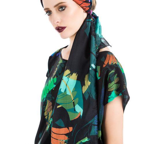 Luxury Skinny Silk Scarves