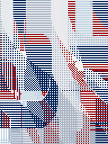 LUXURY SILK SCARF SPRING BURST UNION 135cm x 135cm | TAISIR GIBREEL