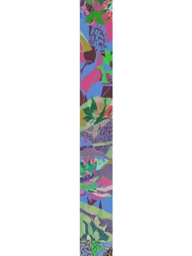 LUXURY SILK SCARF SPRING BURST BLOSSOM 20cm x 175cm | TAISIR GIBREEL