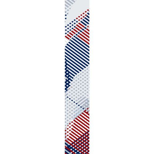 LUXURY SILK SCARF SPRING BURST UNION 20cm x 175cm | TAISIR GIBREEL