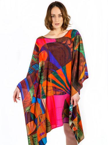 Luxury Silk Kaftan