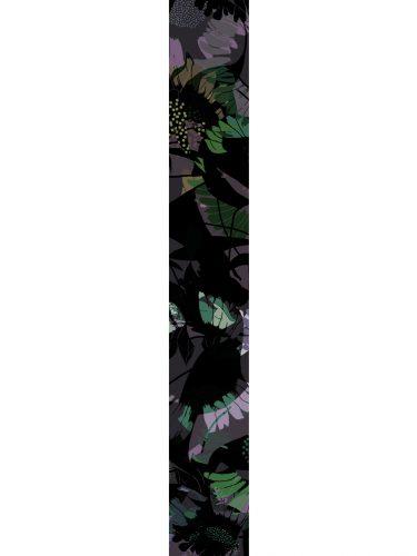 LUXURY SILK SCARF MOODY LOCH FOLIAGE 20cm x 175cm | TAISIR GIBREEL
