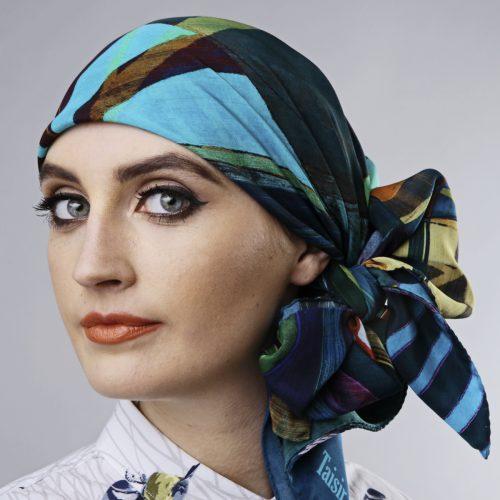 Luxury 90cm x 90cm Silk Square Scarves