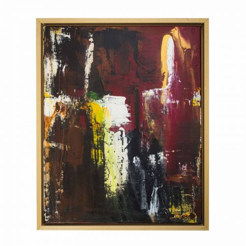 TAISIR GIBREEL ABSTRACT ART WHEN DARKNESS COMES
