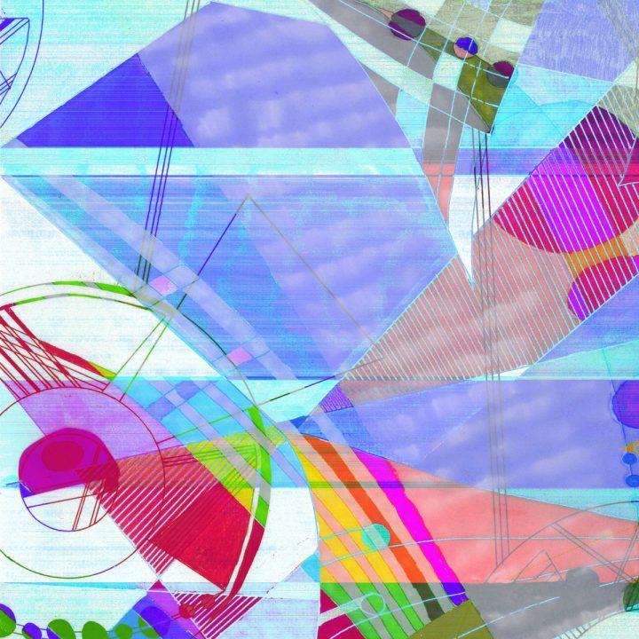 Taisir Gibreel Giclee Print Silver Dew Rainbow | Taisir Gibreel