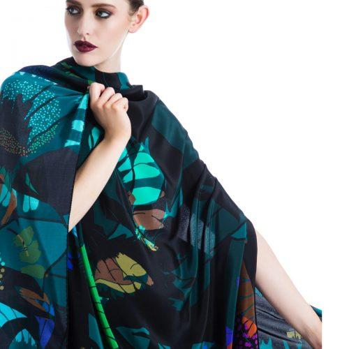 Luxury 135cm x 135cm Silk Square Scarves