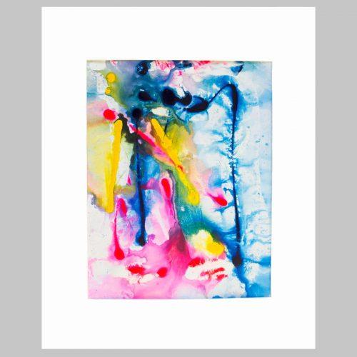 Taisir Gibreel Abstract Art Fallen Colour