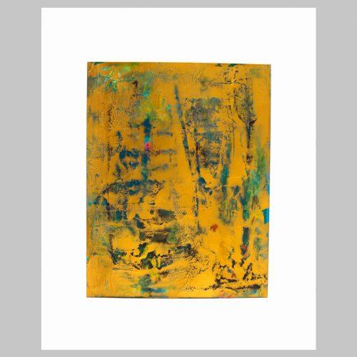 Taisir Gibreel Abstract Art Copper Fields