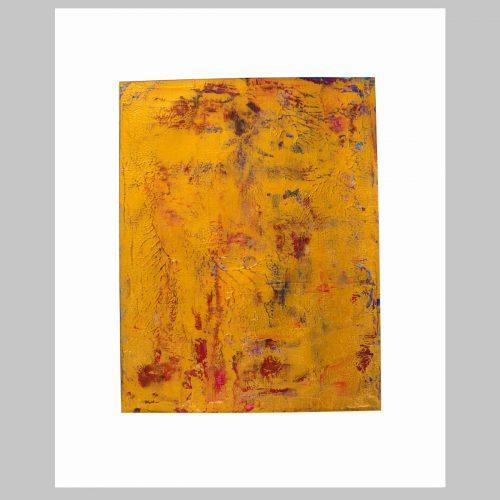 Taisir Gibreel Abstract Art Golden Vines