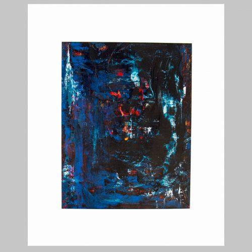 Taisir Gibreel Abstract Art Midnight