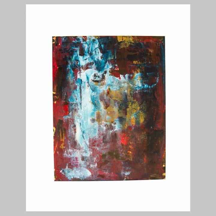 Taisir Gibreel Abstract Art The Fall