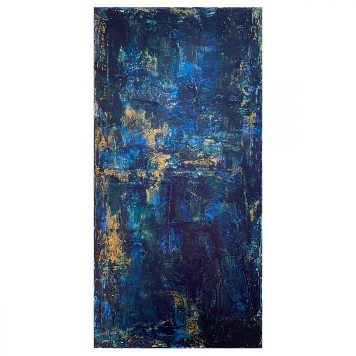 Taisir Gibreel Abstract Art Midnight Forest