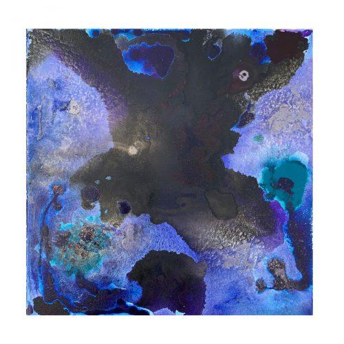 Taisir Gibreel Abstract Art Wild Darkness