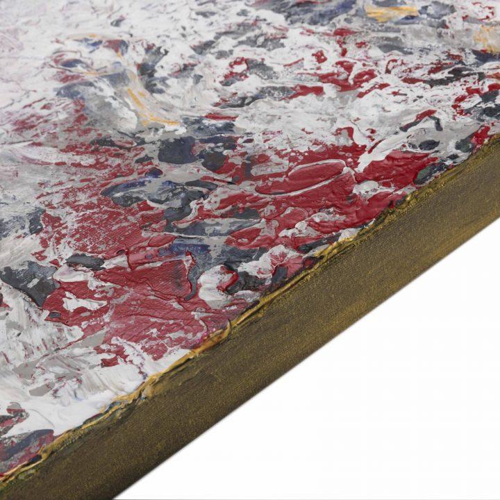 TAISIR GIBREEL ABSTRACT ART BENEATH THROUGH THE FOG